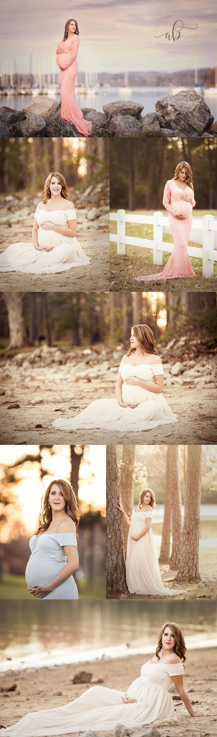 Knoxville TN Maternity Photographer #maternitypose Free gown rental with your Knoxville or Gatlinburg maternity session with Alisha Bacon Photography