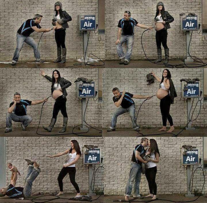 Fotografía creativa: El embarazo