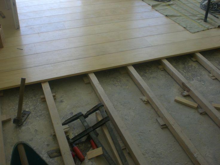 Ξύλινο πάτωμα στο εσωτερικό μαγαζιού | Interior floor | Kritikoswood | Accoya