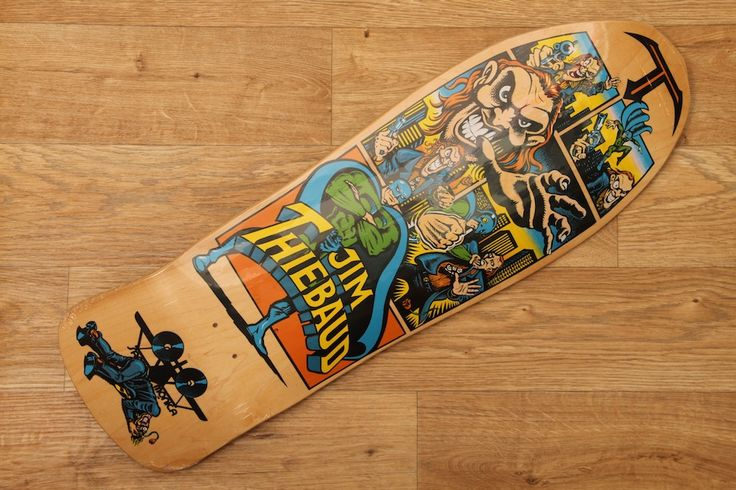 Santa Monica Airlines Jim Thiebaud Villain Deck Re-issue #67/500 £89.95