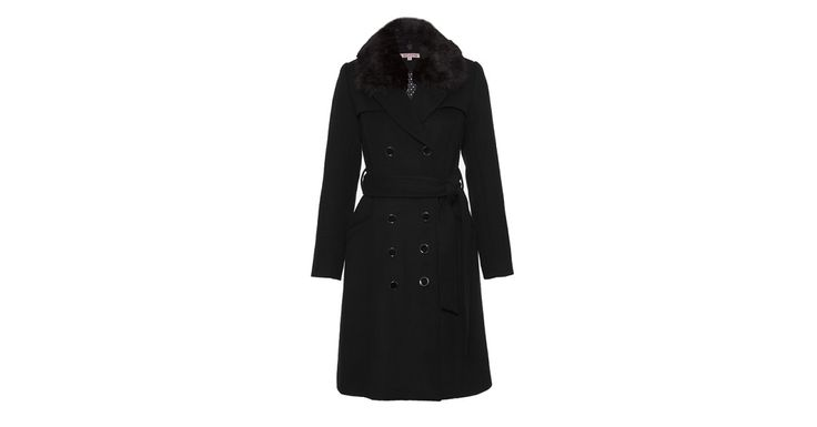 Secret Admirer Coat Black   Coats   Review Australia