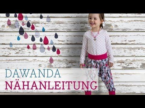 DaWanda Nähschule: Pumphose für Kinder