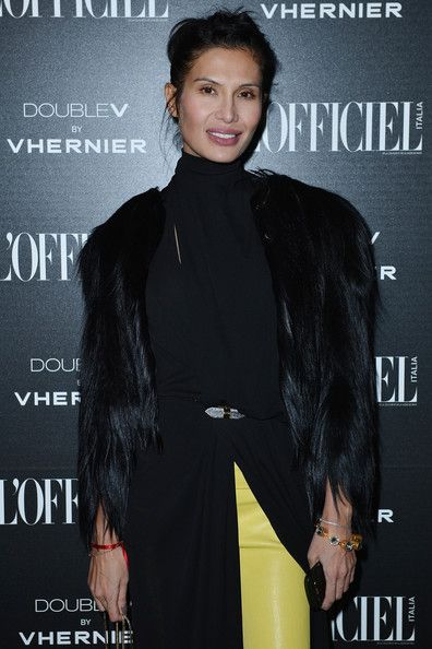 """Goga Ashkenazi Photos Photos - Goga Ashkenazi attends the """"L'Officiel"""" dinner during Milan Fashion Week Womenswear Fall/Winter 2013/14 on February 22, 2013 in Milan, Italy. - L'Officiel - Dinner - MFW F/W 2013"""