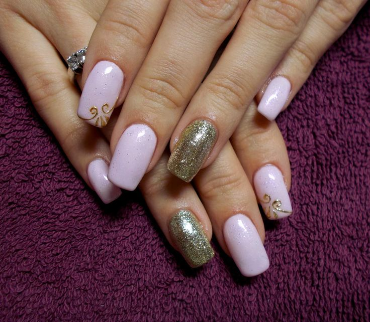 White gold nails! Adorable: 33