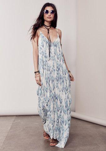 California style maxi dresses
