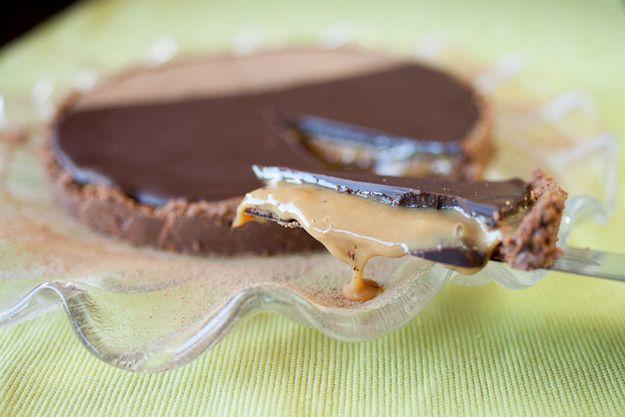 No Bake Tim Tam Tart | 20 Ways To Eat A Tim Tam