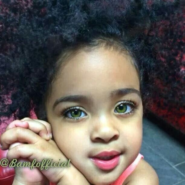 Mixed Baby Girl With Green Eyes 1000+ images about Kid...