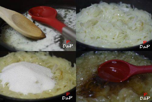 Hacer mermelada de cebolla