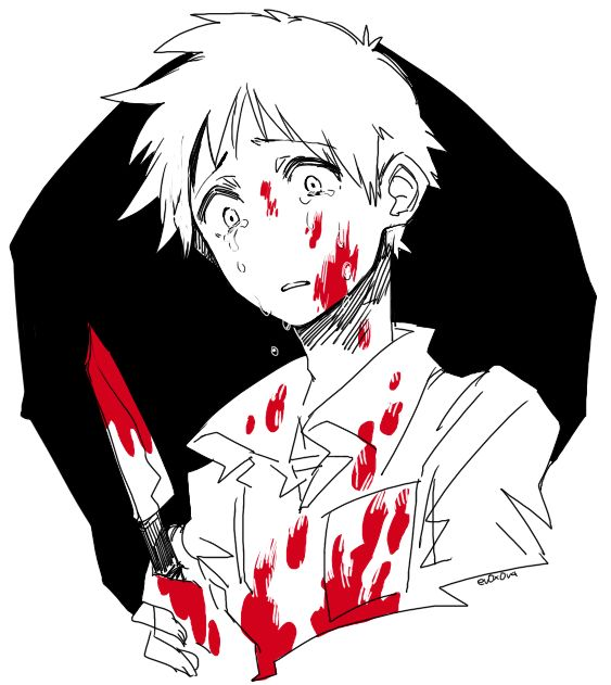 "Yandere (male): "" Don't be scared you'll be soon used to it and you'll love that…"