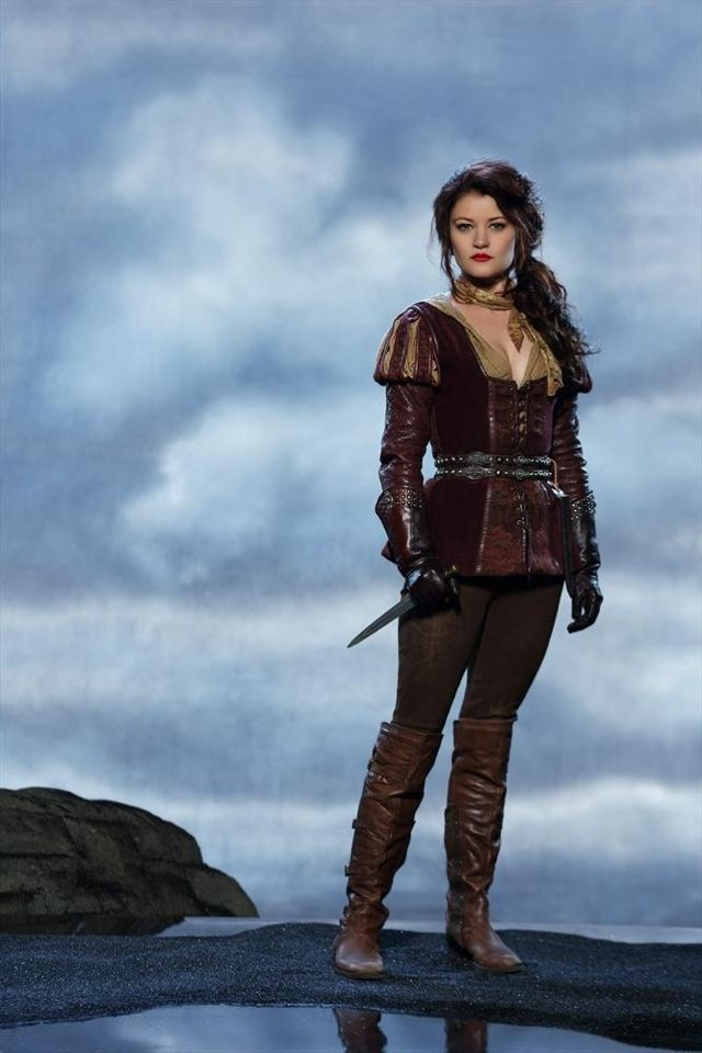 "ONCE UPON A TIME Season 3 Cast Photos: ONCE UPON A TIME – ABC's ""Once Upon a Time"" stars Emilie de Ravin as Belle. (ABC/Bob D'Amico)"