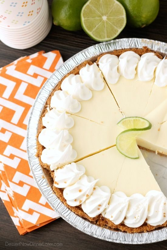 Celebrate Summer with frozen pies, and let Edwards® take care of the dessert for you! This Key Lime Pie is cool and creamy with a hint of lime. The perfect dessert for your next pot luck, party, or get together!  #EdwardsPies #Pmedia #ad