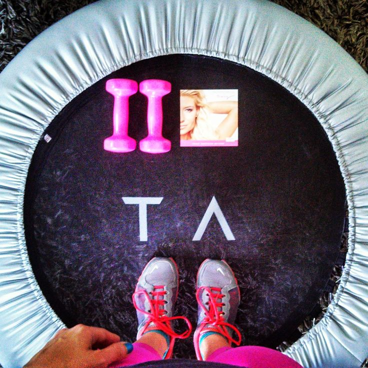 Tracy Anderson Mini Trampoline workout