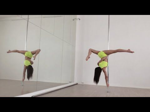 Dragon Tail - pole tutorial (in English) - YouTube