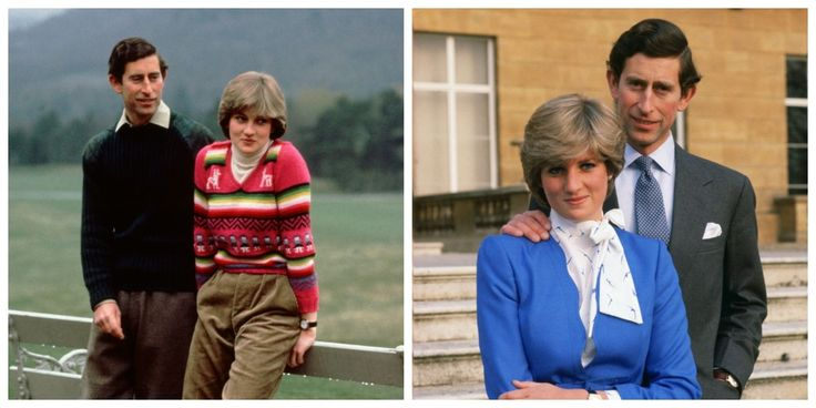 The Weird Thing You Never Noticed About All These Pictures of Princess Diana and Prince Charles - ELLE.com