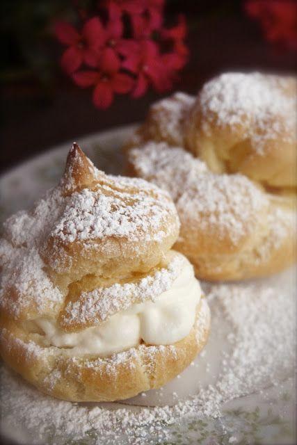 Amazing Cream Puffs Recipe!