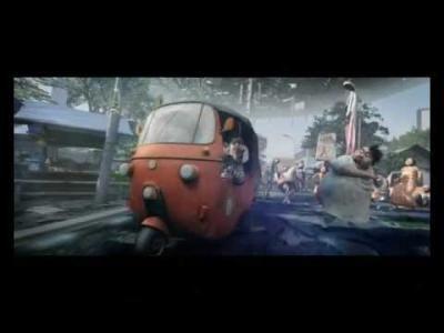 Bajaj Berubah Menjadi Robot Transformer (Karya Film Animasi Indonesia)