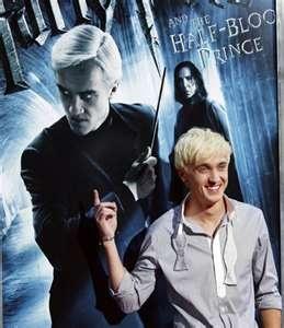 Tom Felton as Draco Malfoy :)