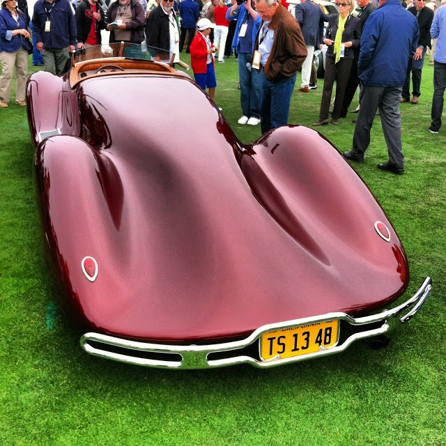 Cars at the Pebble Beach Concours