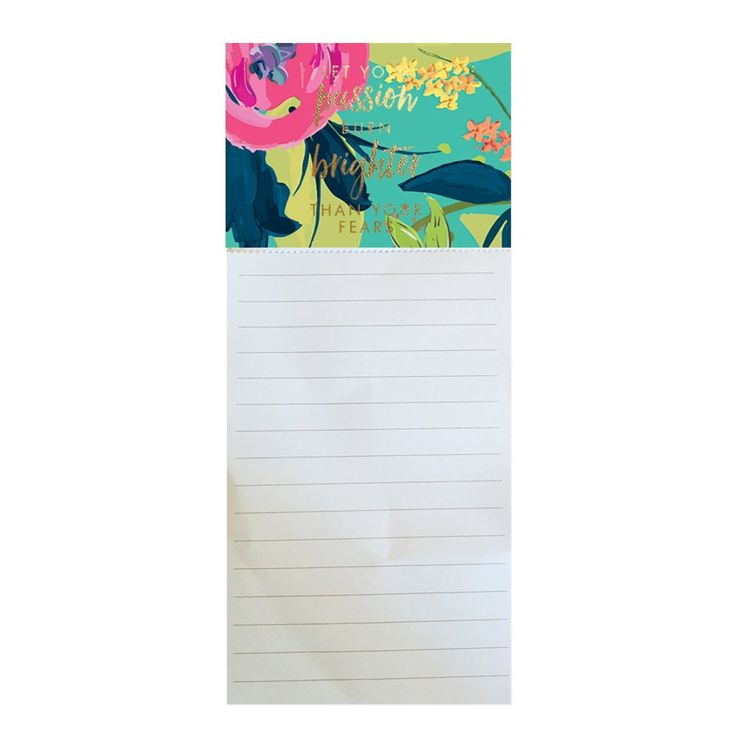 Magnetic Notepad Brighter Than Your Fears SHIPS 2/1