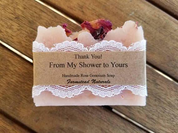 Soap Favors Rose Geranium Wedding Favors Bridal Shower Etsy Bridal Shower Favors Diy Wedding Shower Favors Bridal Shower Diy