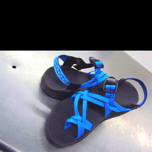 """Something borrowed, something blue"" Chacos for your wedding"