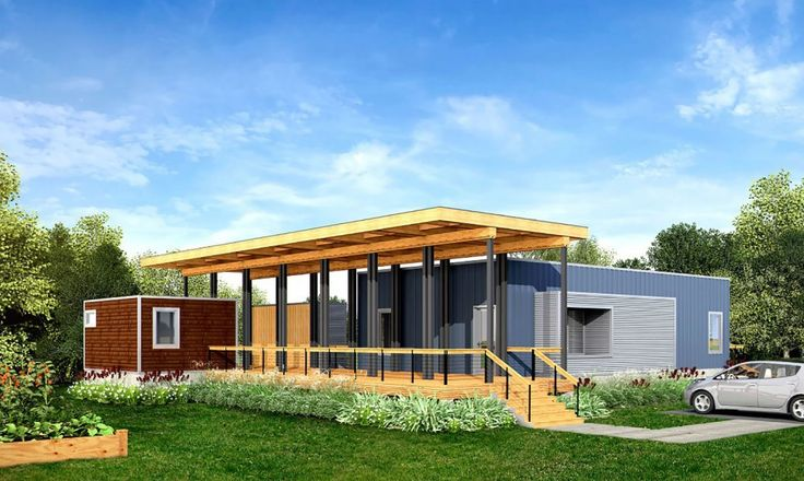 Prefabricated home builder Deltec has recently launched a new line of solar-powered, net-zero energy prefab homes - starting at a relatively affordable price of under 100K.