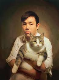 Keita Morimoto Self portrait