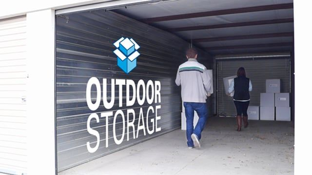 http://www.storage.com/ – Outdoor storage, also known as exterior storage, is available in many of the same unit sizes as indoor units, plus some