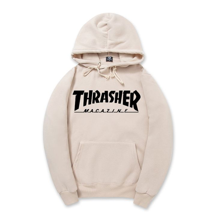 2016 New Fleece Autumn Winter Trasher Men's Hoodies Streetwear Skateboard Hip hop Hoody Thrasher Sweatshirt Men Women Sweat XXL *** Offer can be found by clicking the image