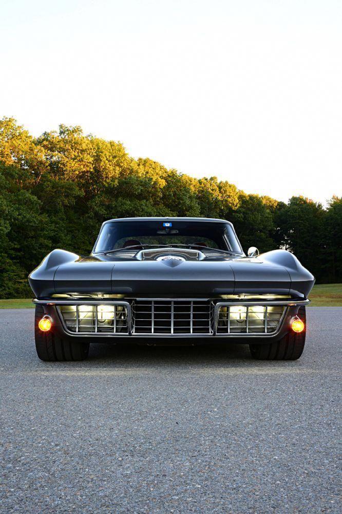 1966 Corvette Sting Ray Ray Ridler Johnson aufgeteilt   – Auto Design Ideen