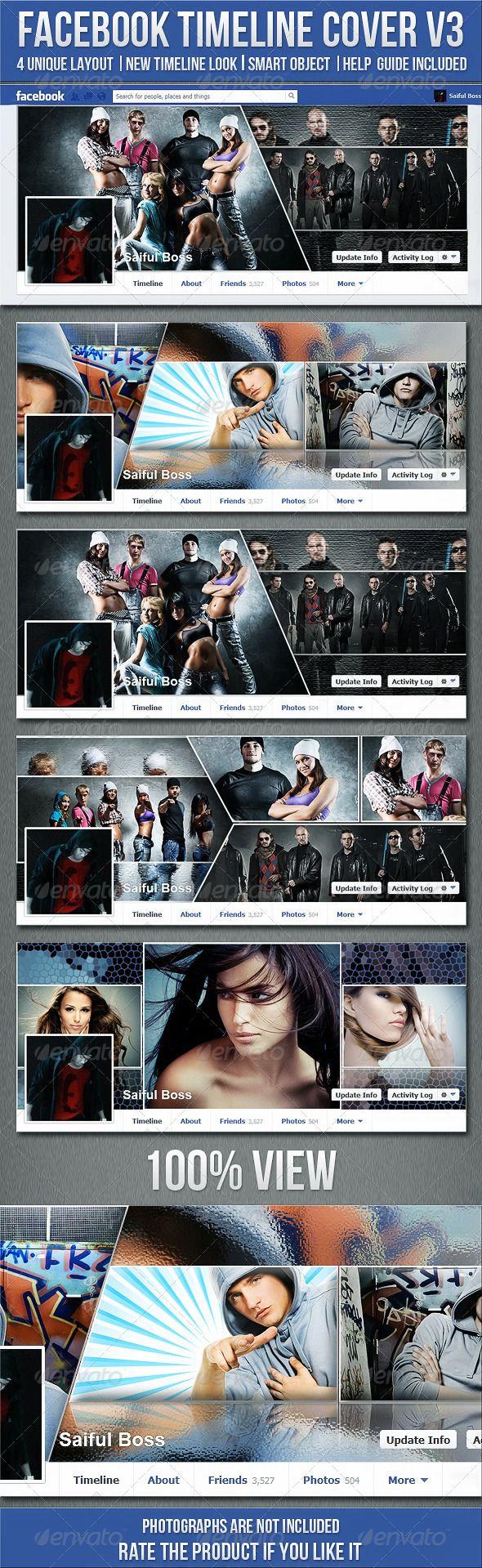 FB Timeline Cover V3 - Facebook Timeline Covers Social Media
