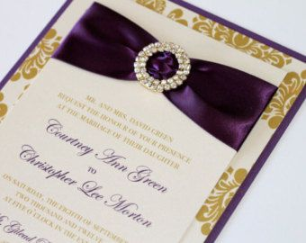 gold and plum wedding - Google Search