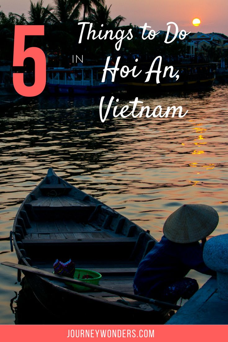 Hoi An is Asia's most beautiful town and here's a travel guide to the best things to do in Hoi An, Vietnam.