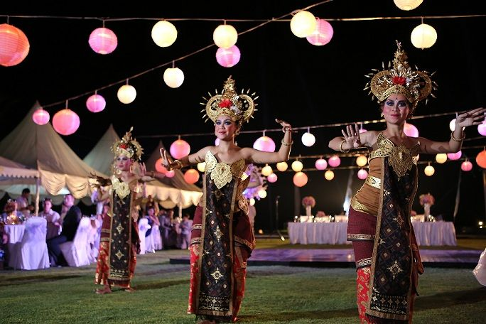 You will never see this dance than in Bali