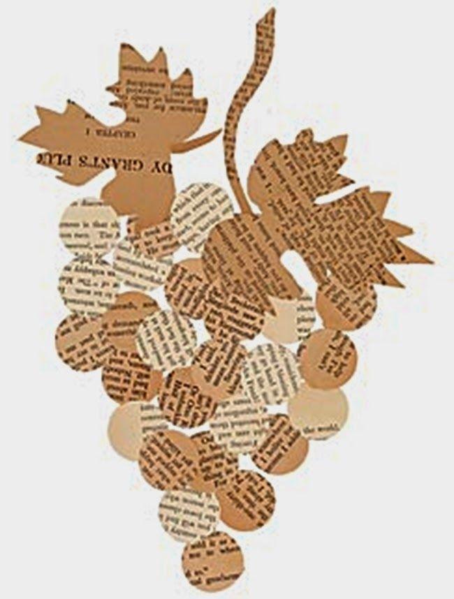 MENTŐÖTLET - kreáció, újrahasznosítás: Újságpapír dekoráció