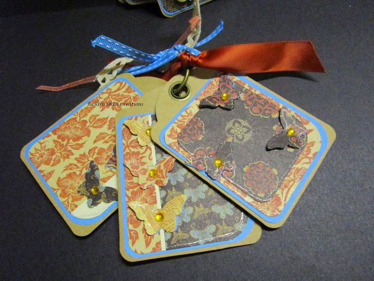 BaRb'n'ShEll Creations - Graphic 45 Staples Tags, Birdsong Collection - made by Shell