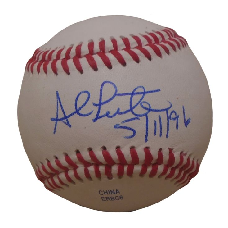 Al Leiter Autographed Rawlings ROLB1 Leather Baseball w/ Inscription, Proof Photo