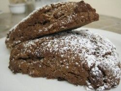 Chocolate Fudge Scones