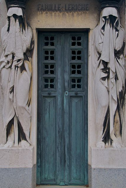Tomb Door , Pere Lachaise Cemetery   Paris Tomb Door,