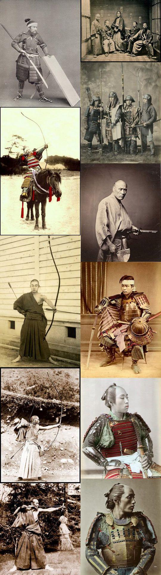 Japanese samurais