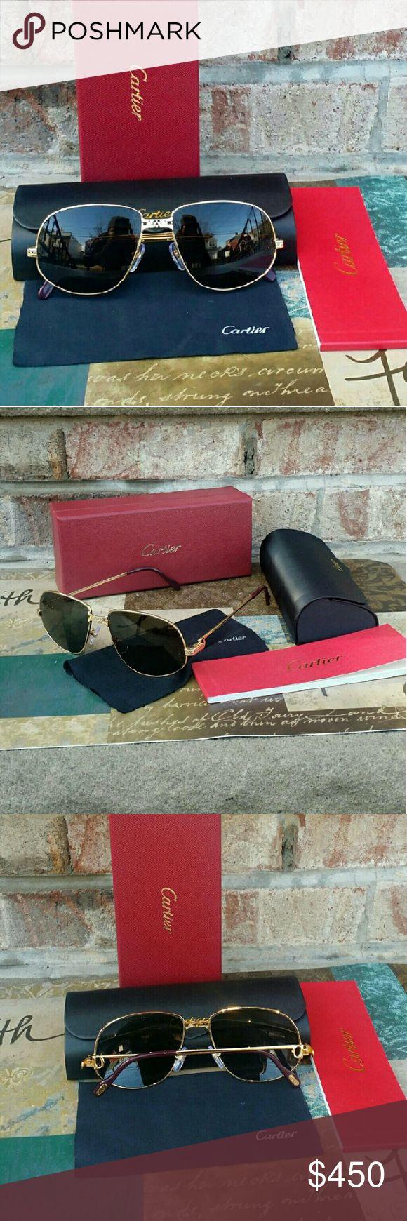 Cartier Luxury Quality Unisex Sunglasses Cartier Luxury Quality Unisex Sunglasses Brand New. Cartier Accessories Glasses