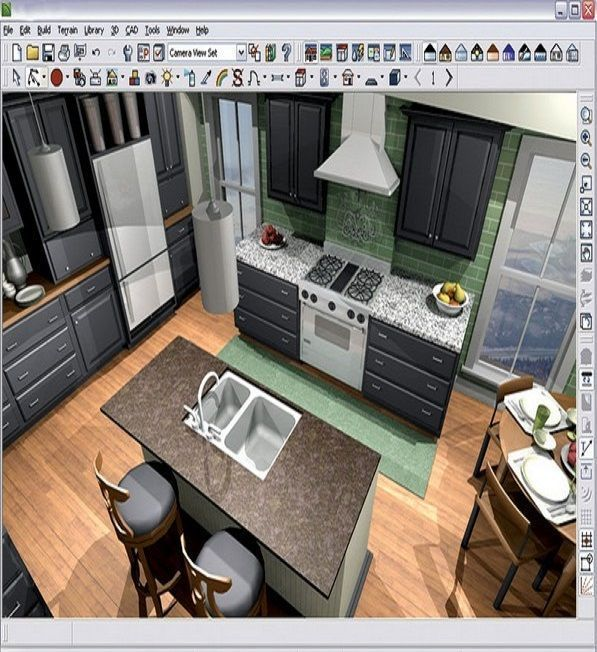 10 Free Kitchen Planning Software To Design An Ideal Kitchen Freekitchendesignsoftwa Free Kitchen Design Kitchen Design Software Kitchen Design Software Free