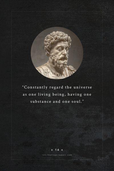 infj - marcus aurelius (121 – 180) a roman emperor,considered one of the most importantstoicphilosophers