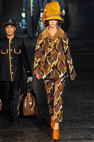 Louis Vuitton, Fall 2012 runway