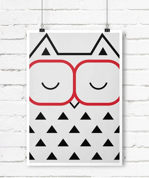 Hey, I found this really awesome Etsy listing at https://www.etsy.com/uk/listing/202761539/retro-poster-minimalist-owl-forest