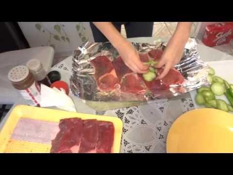 Receta De Carne De Res En Aluminio Con Cebolla Y Tomatillo