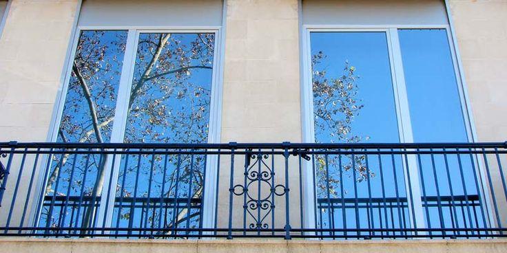 lamina espejo espía para proteger las ventanas