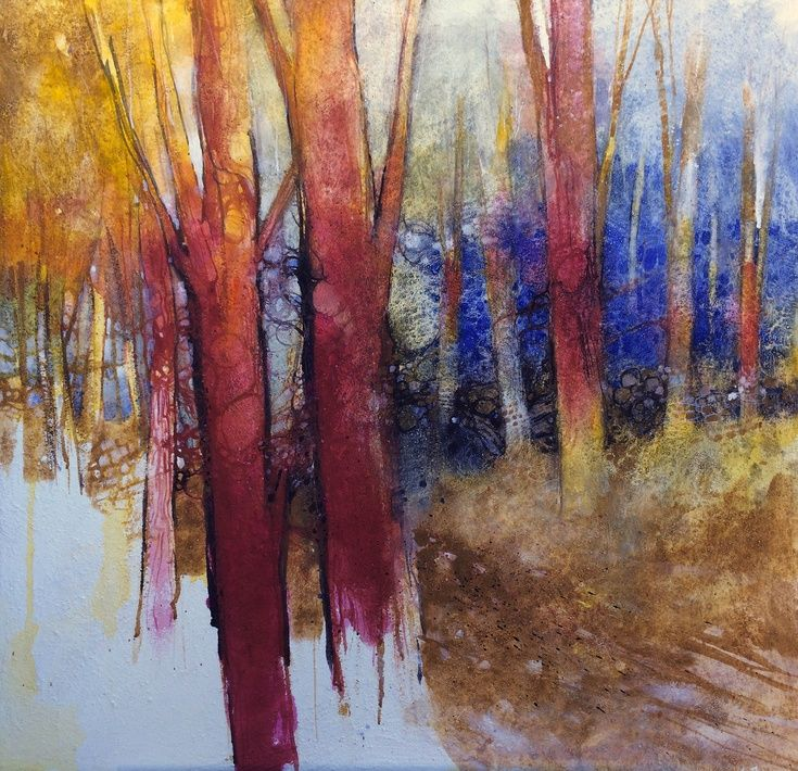 ARTFINDER: Alla fine dell'estate il bosco divent... by Alessandro Andreuccetti - In late summer the colors of the forest are reduced but do not die, they dissolve slowly and oxidize. It 's the season of reds, yellows, some green in the hu...