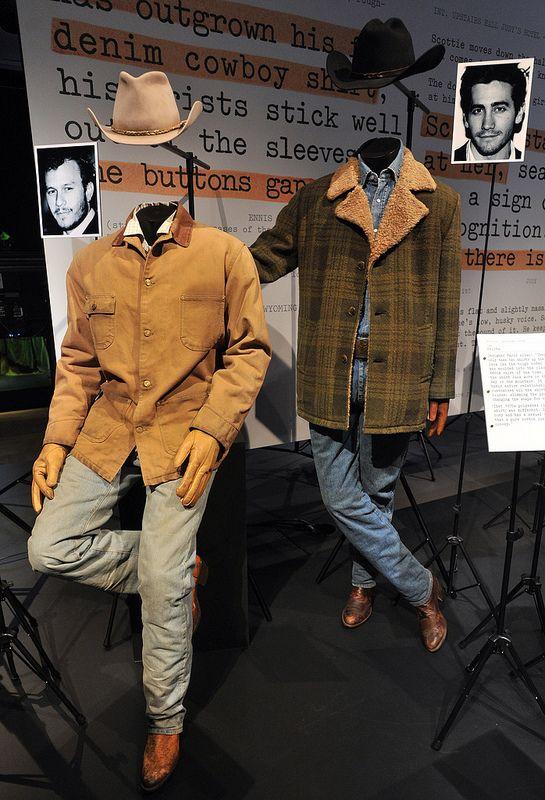 Brokeback Mountain - 2007 - (L) Heath Ledger as Ennis Del Mar, (R) Jake Gyllenhaal Jack Twist. designer: Marit Allen