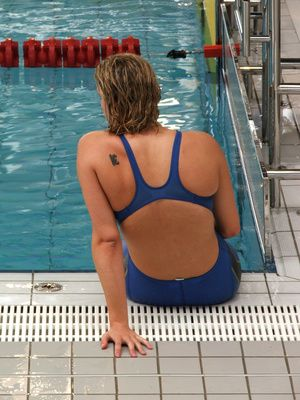 Swim workouts for beginners and advanced. :) ima be Glad I pinned this. Swimming is excellent cross training for runners!